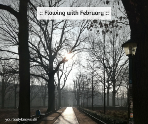Flowing with February